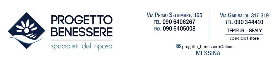 Materassi Messina – Progetto Benessere